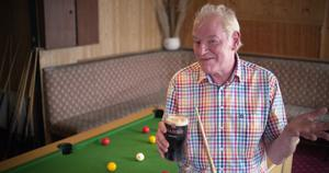 Vincent Keaney, who used his winnings to start a bar and restaurant in Cobh, on RTÉ's We Won the Lotto Photo credit: RTÉ