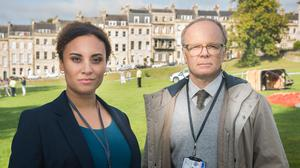 Tala Gouveia and Jason Watkins are back for season two of 'McDonald & Dodds'