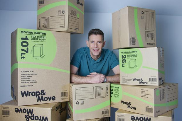 On the box: Dermot Bannon is tackling his own home in Room to Improve