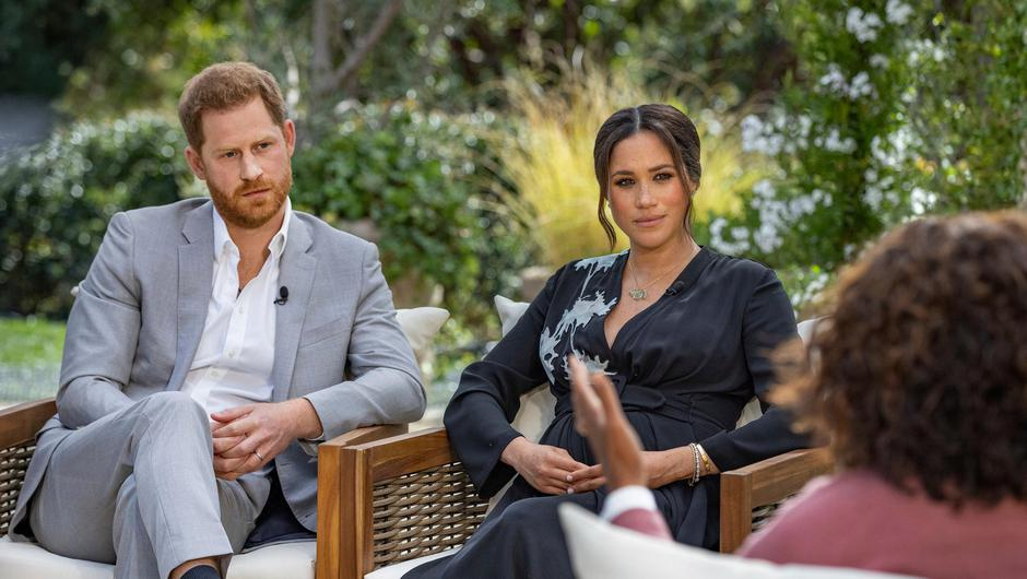 'Oprah with Meghan and Harry