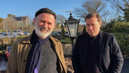 Ardal O'Hanlon chats to Tommy Tiernan for his new show.