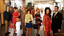 Heading for the hills: The last episode of Mad Men was screened this week
