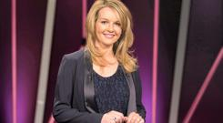 In all but name: Claire Byrne Live has the same time slot, studio set-up and sort of panelists as the axed The Frontline. Photo: Andres Poveda.