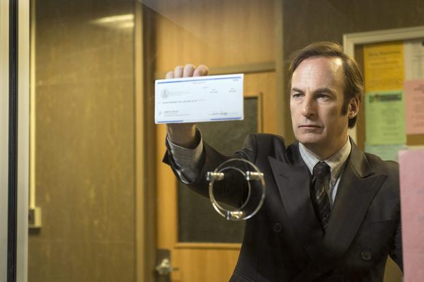 Bob Odenkirk as Saul Goodman in Better Call Saul