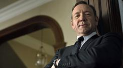 Frank Underwood (Kevin Spacey) in House of Cards