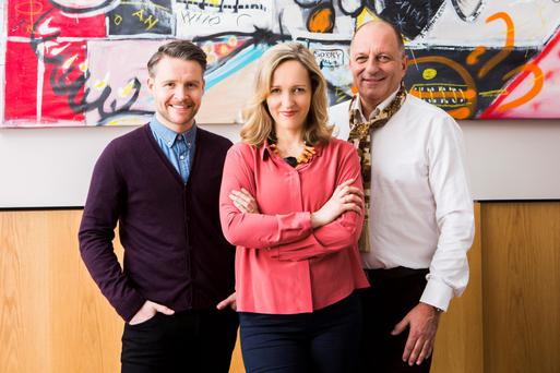 Home truths: Declan, Helen and Hugh from RTE's Home of the Year