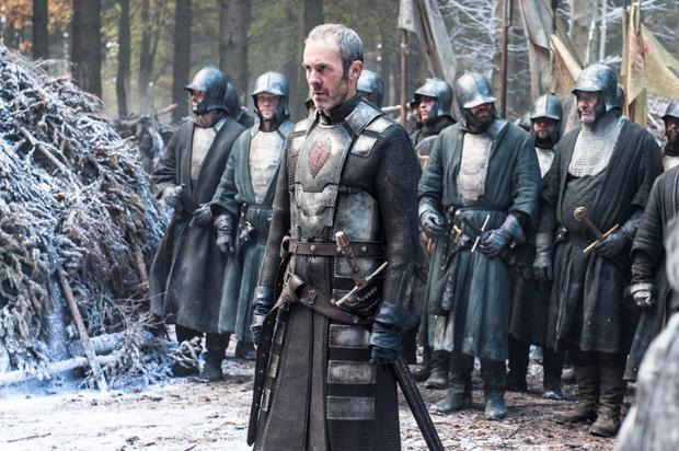 Stannis Baratheon and his army move north in series 5 of 'Game of Thrones'
