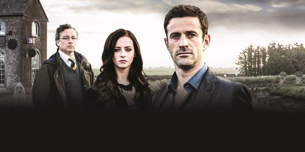 Unanswered questions: Aidan McArdle, Kelly Thornton and Adam Fergus star in Clean Break on RTÉ One