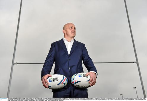 TV3 rugby pundit Keith Wood
