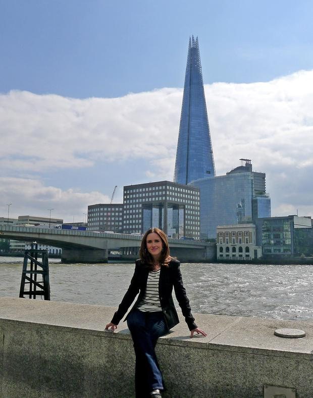 Streets paved with gold? Maia Dunphy on the Thames as RTE documents her attempt to break London.