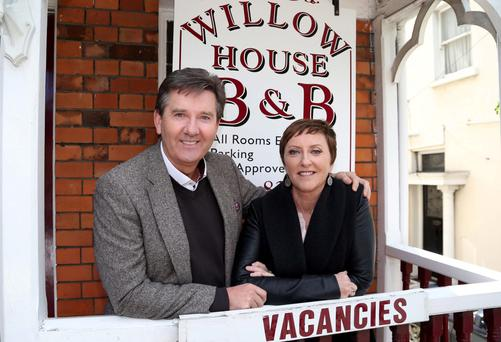 Strictly no romancing: Majella fired a warning Daniel on their first B&B stop.