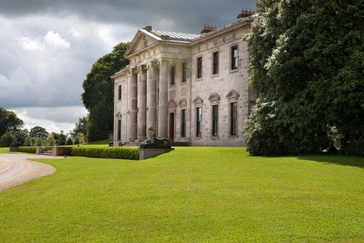 Grand designs: Ballyfin in Co Laois, which was recently restored