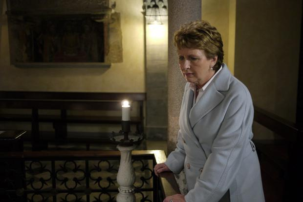 European mission: Mary McAleese made two versions of her programme