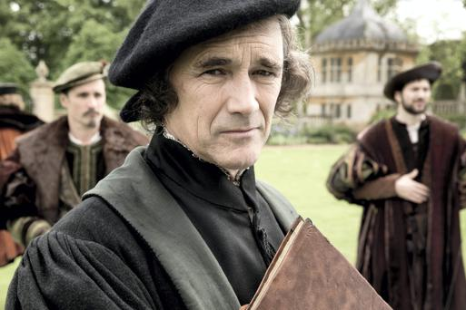 Mark Rylance in Wolf Hall.