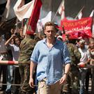 Cool: Tom Hiddleston comes over all 007 in The Night Manager