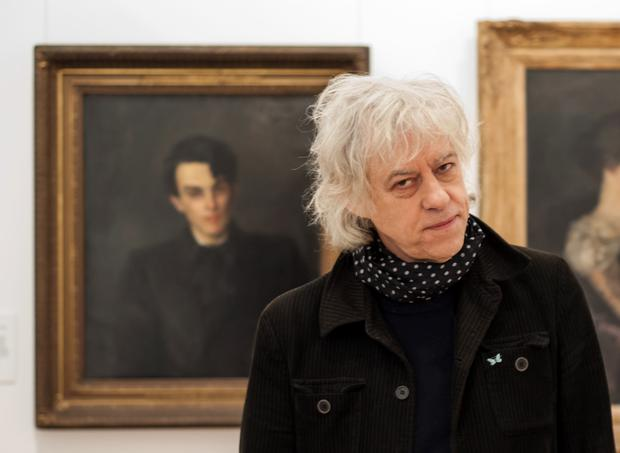 Quirky engagement: Bob Geldof in his programme on WB Yeats