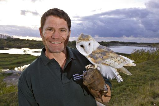 Presenter Steve Backshall.