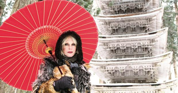 TV odyssey: Joanna Lumley displays genuine courtesy, warmth and empathy on her travels