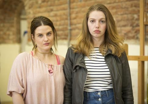 Implausibilities abound: Nika McGuigan and Seána Kerslake in Can't Cope, Won't Cope