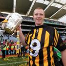 King Henry: Henry Shefflin celebrates his ninth All-Ireland medal in 2012. Photo: INPHO/Lorraine O'Sullivan