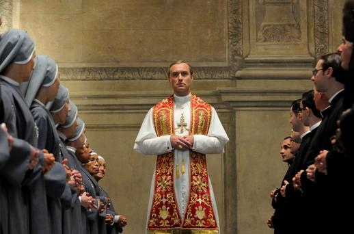Another winner: Jude Law as Pius XIII in The Young Pope