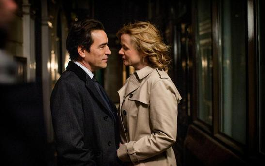 Mysterious liaisons: Ben Chaplin and Emily Watson in Apple Tree Yard