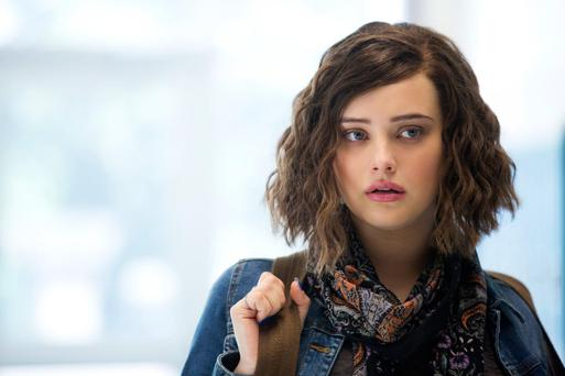 Flashback: Katherine Langford plays the doomed Hannah in 13 Reasons Why