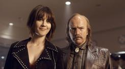 Double take: Nikki Swango (Mary Elizabeth Winstead) and Ray Stussy (Ewan McGregor) in the third season of Fargo