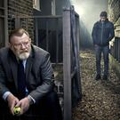 Brendan Gleeson and Harry Treadaway in Mr Mercedes