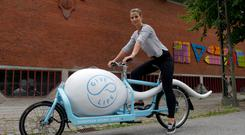 Tandem for one: Vogue Williams in Denmark for Going It Alone