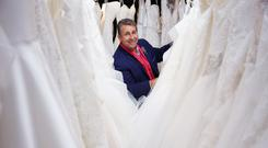 Few frills: Wedding planner Franc in Say Yes to the Dress Ireland