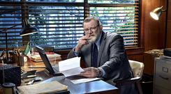 Tormented ex-cop: Bill Hodges was splendidly played by Brendan Gleeson in Mr Mercedes, this year's best drama by a long shot