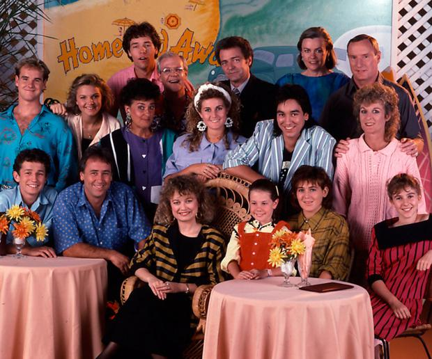 Life's a beach: The cast of Home and Away in 1988