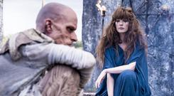 Mackenzie Crook and Kelly Reilly in new Sky Atlantic series Britannia
