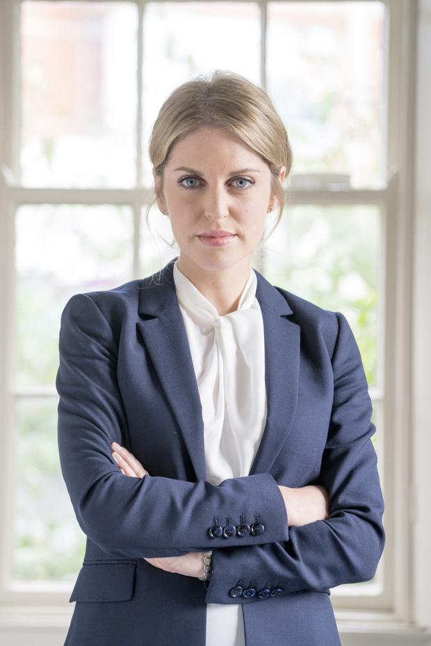 One more to go: Amy Huberman as Tara in Striking Out