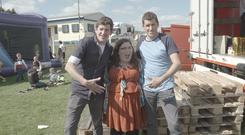 Country life: Alison and the Tully twins on Alison Spittle's Culchie Club