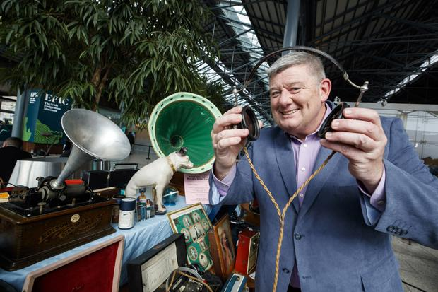 Best left in the shed: Some of the items on John Creedon's National Treasures included a travel bag once belonging to an external affairs minister from the 1960s