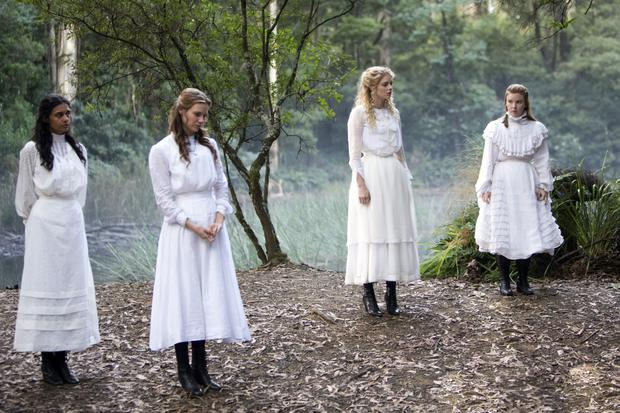 Different tone: The new TV series of Picnic at Hanging Rock is more in your face than the 1975 art-house film