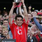 Glory days: Seán Óg Ó'hAilpín lifts the Liam McCarthy Cup in 2005 for Cork