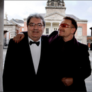 Praise: This week's RTÉ documentary on John Hume, left, included a tribute from Bono, right. Photo: David Conachy
