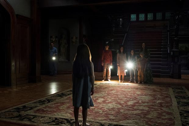 The Haunting Of Hill House builds tension superbly