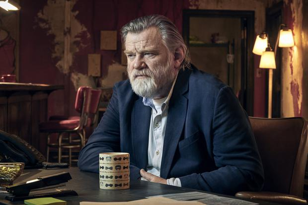 Sleeper hit: Brendan Gleeson as retired detective Bill in Mr Mercedes