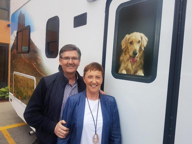 Celebrity Beauty: Cod bickering: Daniel and Majella on their US road trip