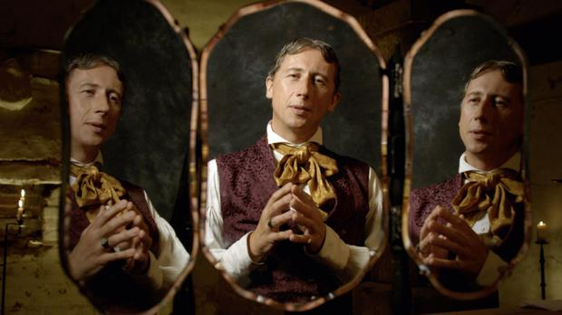 Going Wilde: Nicholas Rowe in the BBC2 documentary, The Importance of Being Oscar