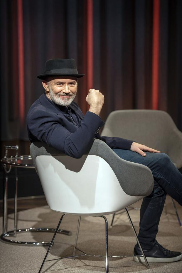 Hotseat: funnyman Tommy Tiernan is back for the third series of his RTE chatshow