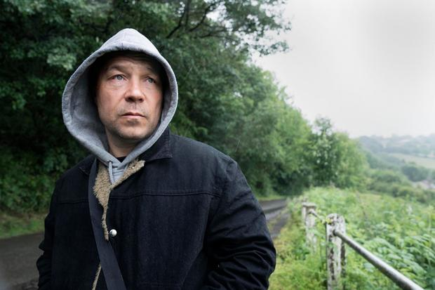 Intense: Stephen Graham, who shone in the last season of Line of Duty, in The Virtues