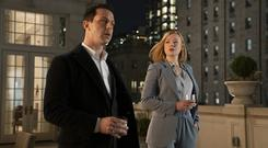 Sibling rivalry: Kendall Roy (Jeremy Strong) and his sister Shiv (Sarah Snook) in Succession