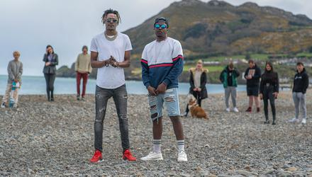 Rappers CJ and Sammy, from Bray, feature in Our Town on RTÉ