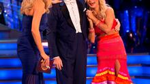Strictly Donegal: Daniel O'Donnell with partner Kristina and presenter Tess.