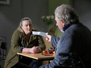 Noni Stapleton and Vinnie McCabe in 'The Noble Call' at Bewley's Cafe Theatre